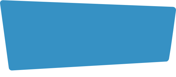Blaues Trapez
