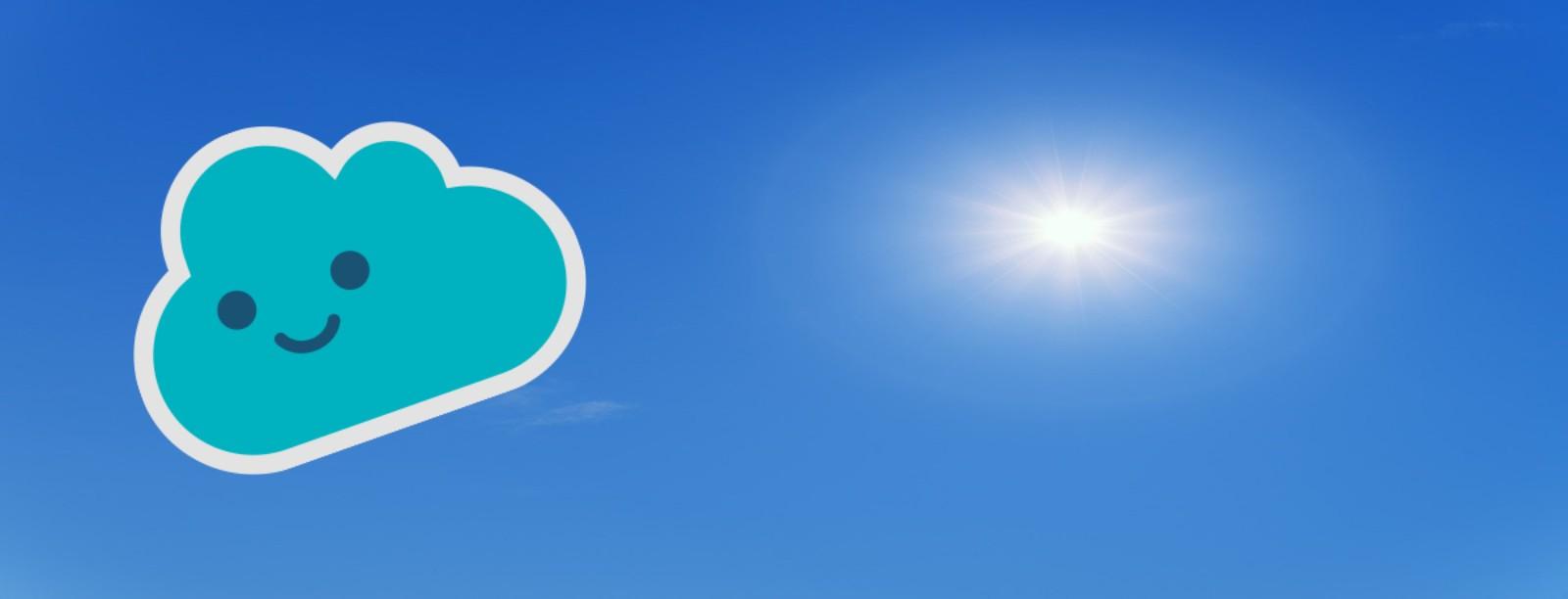 Wolke als Icon